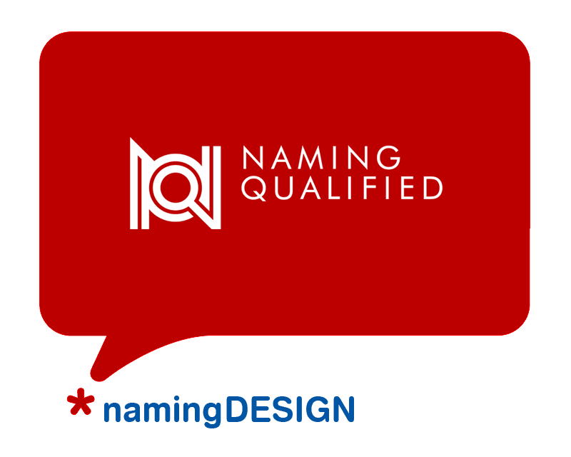logo NQ Naming Qualified  branding naming design Aleksander Bąk